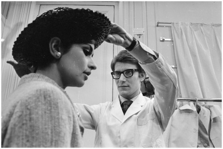 paris-1965-yves-saint-laurent-ex-wonder-boy-of-dior-works-with-a-fashion-model-at-his-own-fashion-house-in-paris