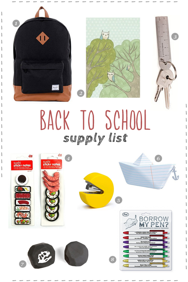 back to school supplies  u2013 front  u0026 company